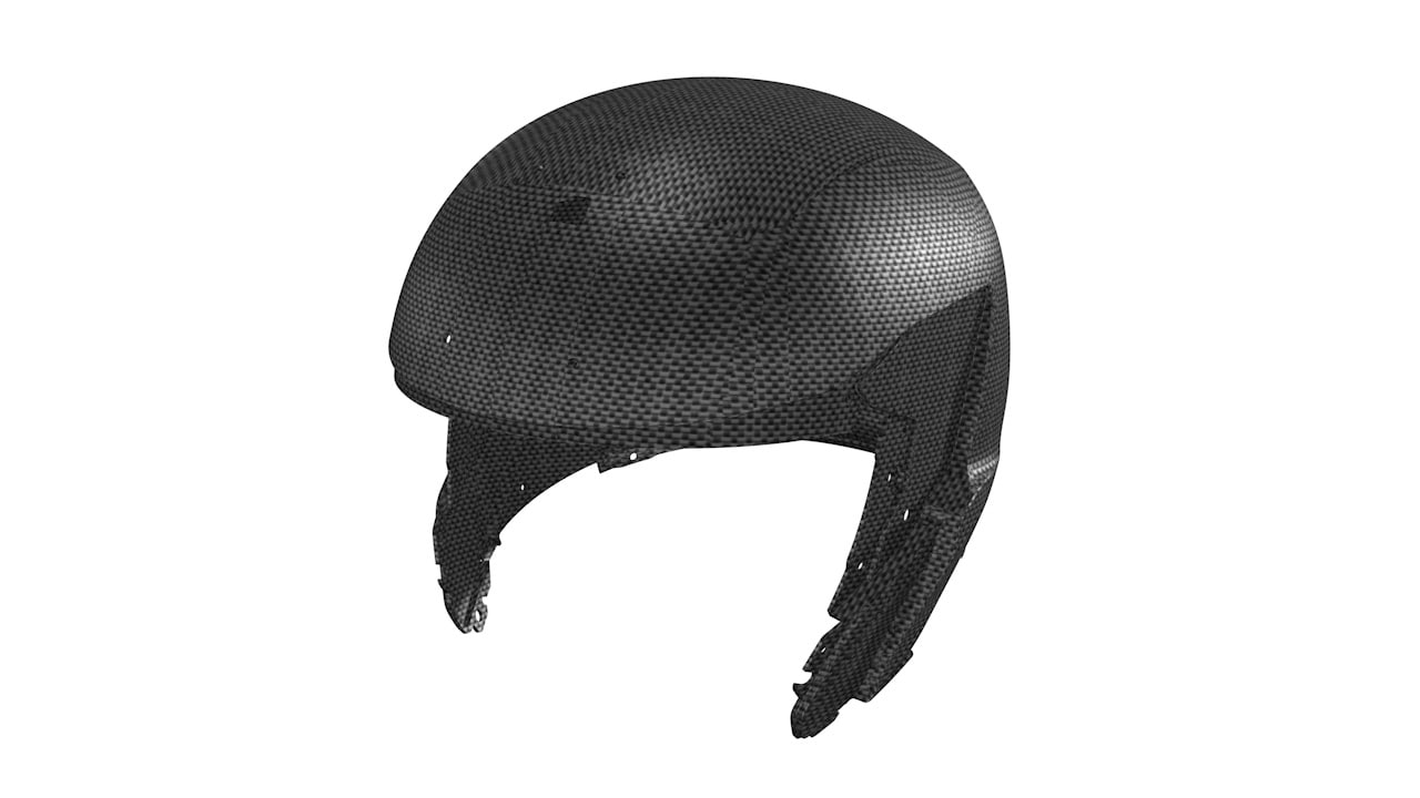 HELMET SHELL MADE OF 100% CARBON System 7 Carbon Helmet